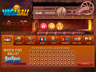 Play Megaball Arcade Game Online