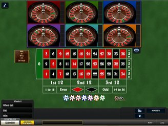 Play Multi Wheel Roulette Online