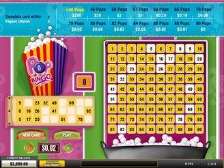 Spela Pop Bingo Arkadspel Online