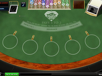 Play Progressive Blackjack Online