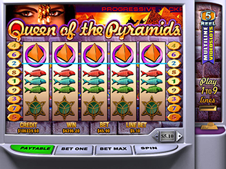 Play Queen of the Pyramids Slots Online