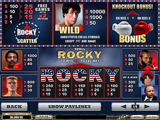 Play Rocky Slots Online