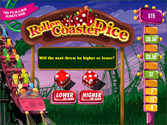Play Rollercoaster Dice Arcade Game Online