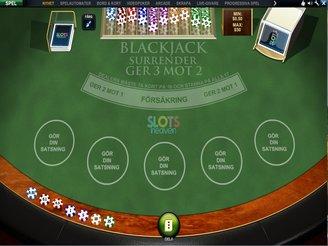 Spela Blackjack Surrender Online