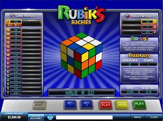Play Rubik's Riches Arcade Game Online