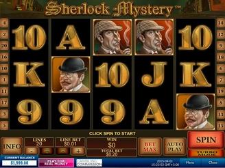 Spela Sherlock Mystery Spelautomater Online