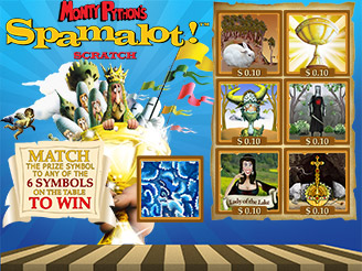 Play Spamalot Scratch Online