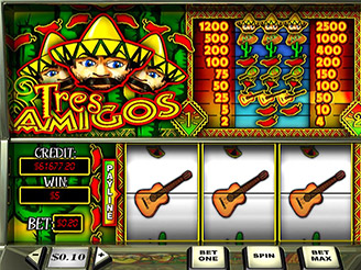 Play Tres Amigos Slots Online at Casino.com South Africa