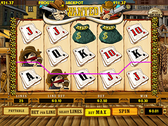 Play Wanted Dead or Alive Slots Online
